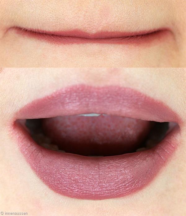 Tutorial Ombre Lips mit essence Innen Aussen 5