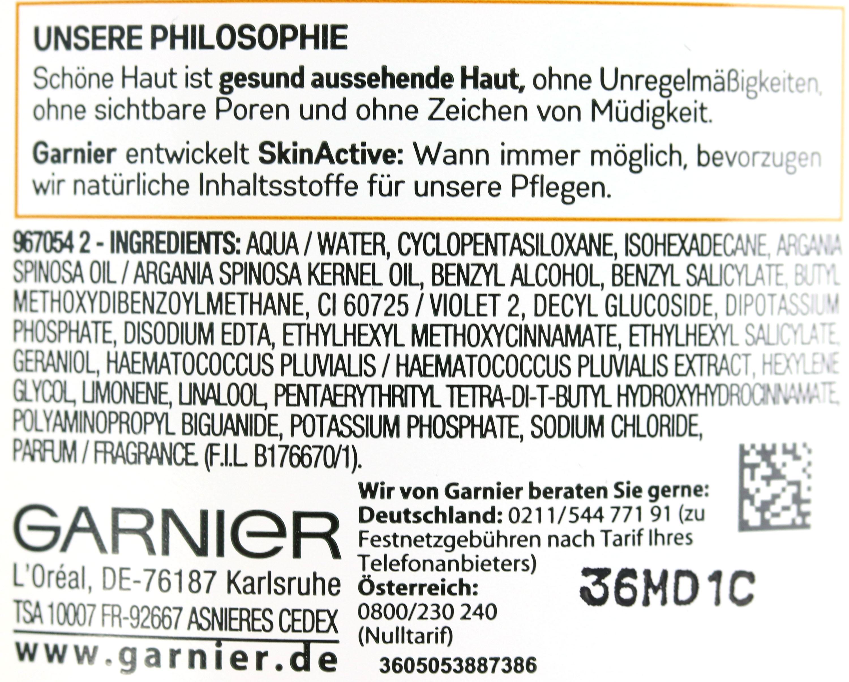 Garnier Mizellenwasser Inhaltsstoffe