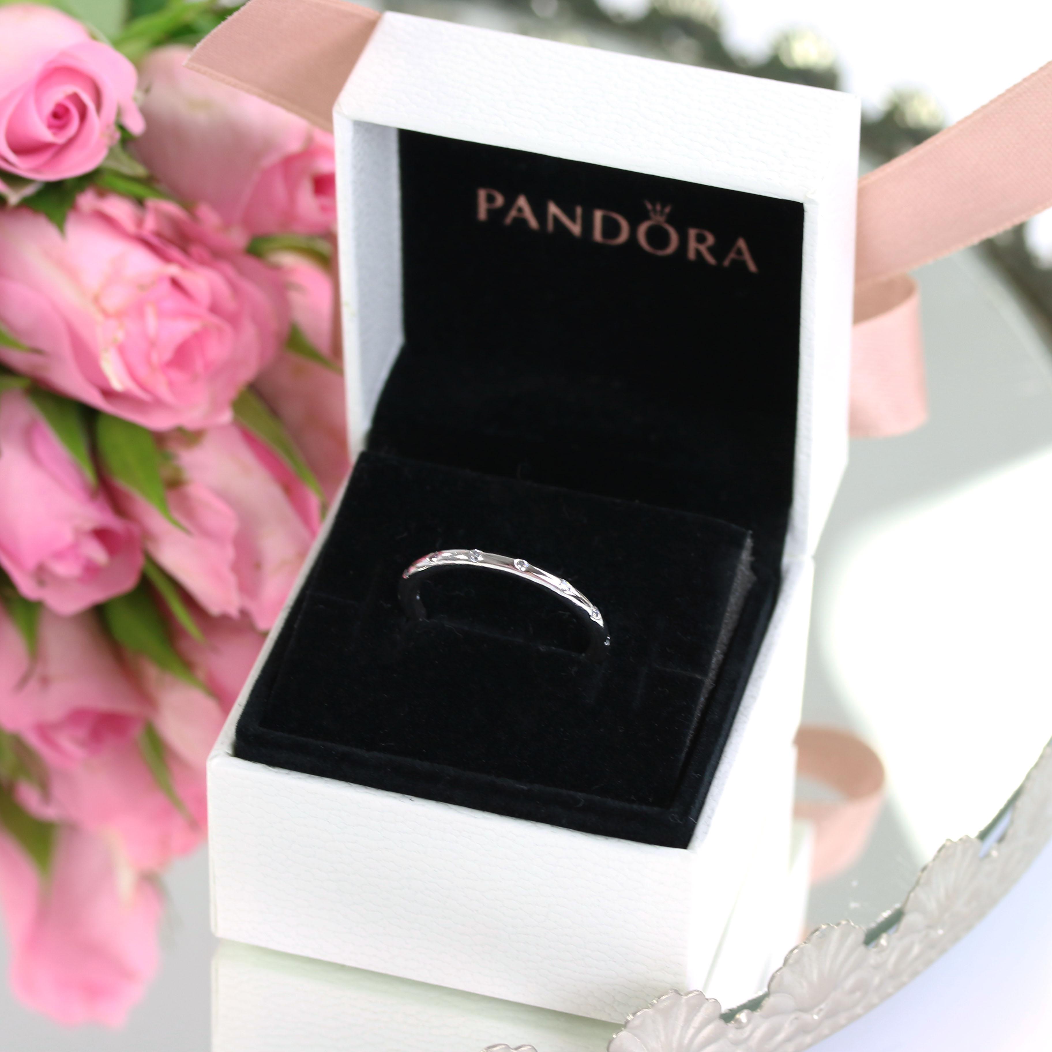 Pandora Silberring InnenAussen