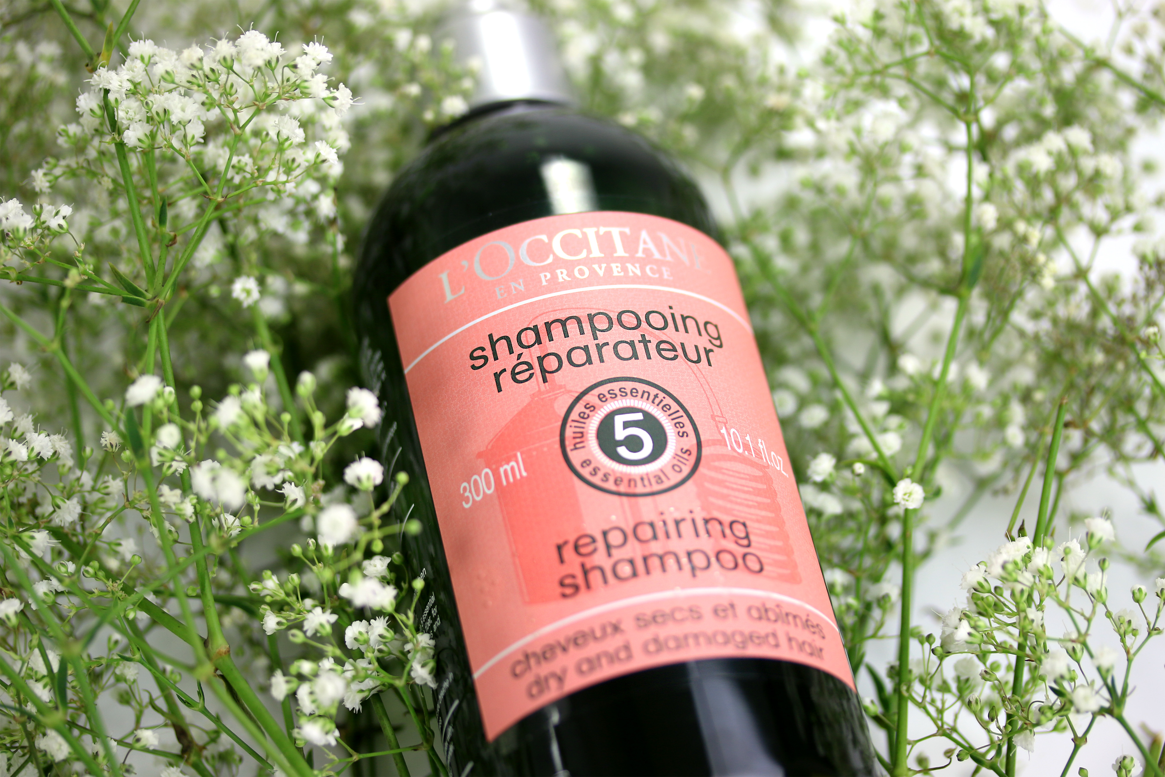 L'Occitane Aromachologie Repairing Shampoo Flasche