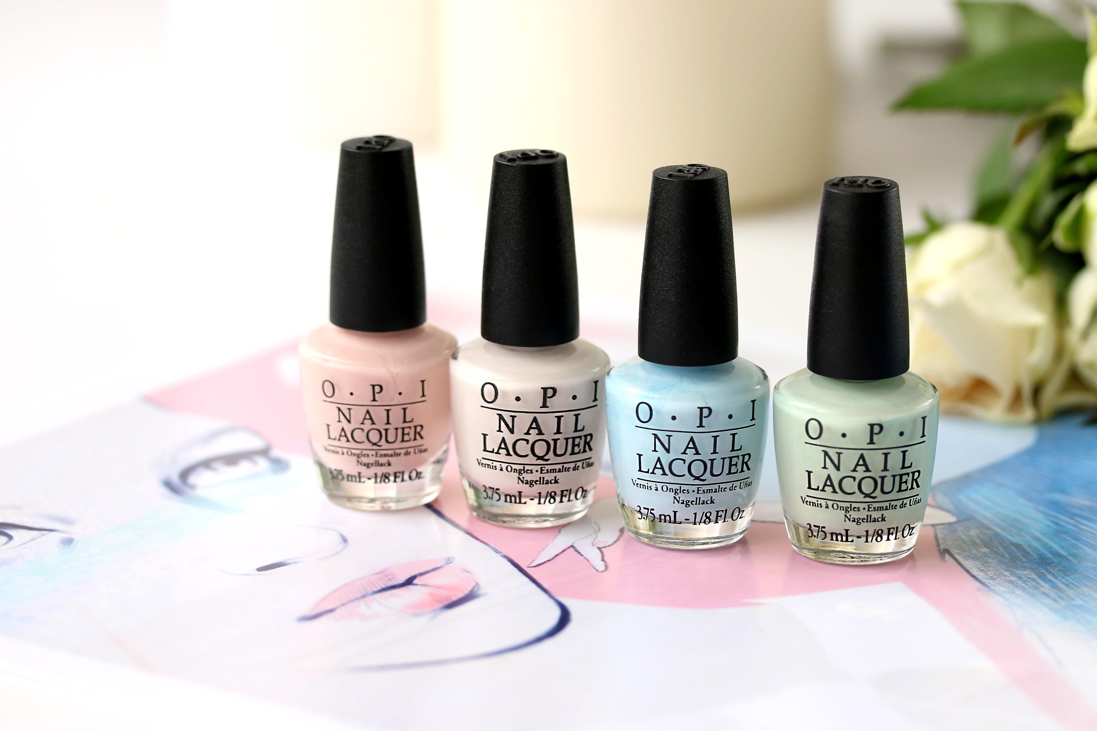 OPI Soft Shades Pastels 3