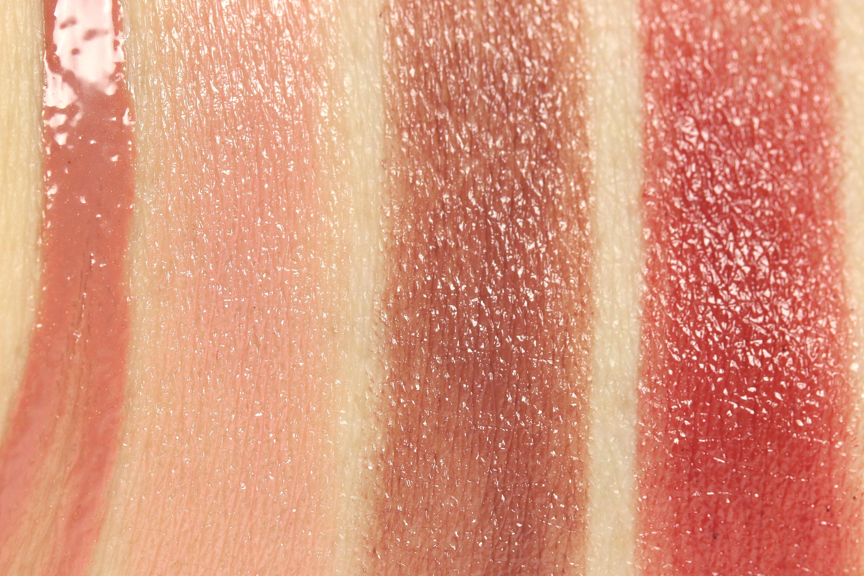Swatches Alverde Lippenstift