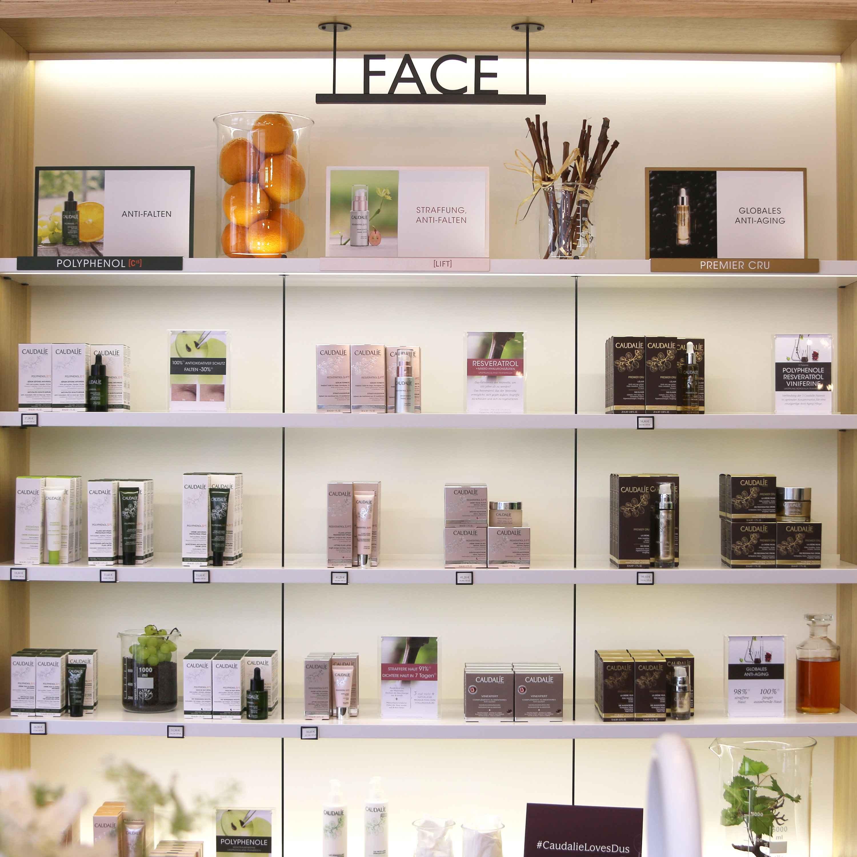 Retail Shop Home Decor Ideas: Caudalie Boutique