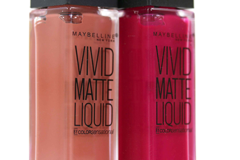 Maybelline Vivid Matte Liquid detail
