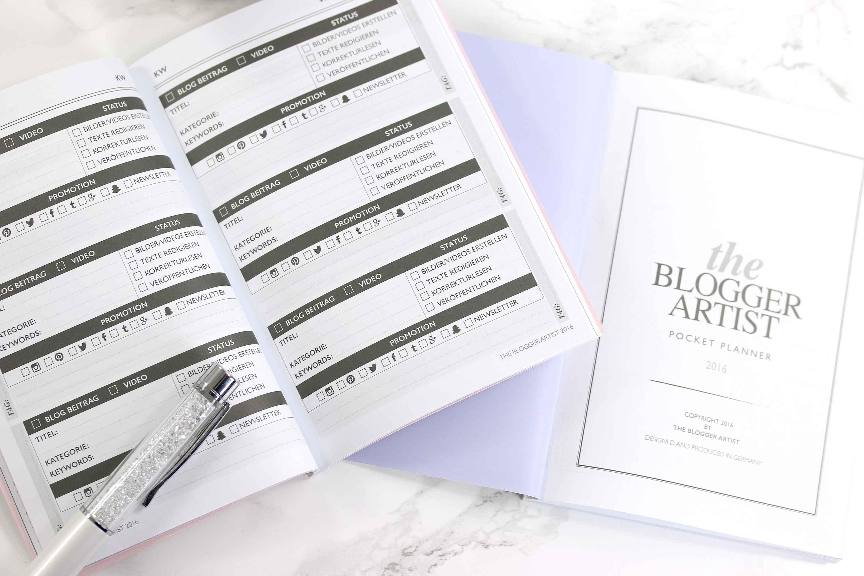 The Blogger Artist Pocket Planner