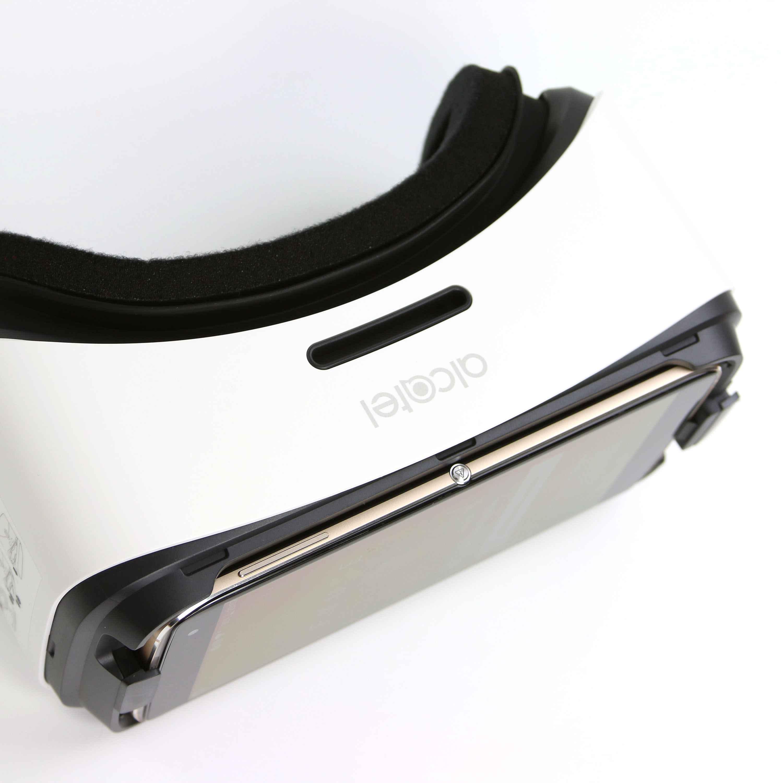 Alcatel Idol 4S Virtual Reality Brille InnenAussen