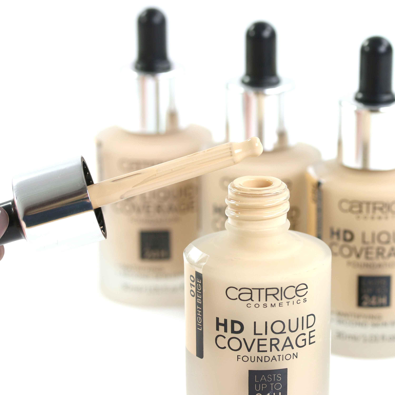 Catrice HD Liquid Coverage Foundation Auftrag InnenAussen