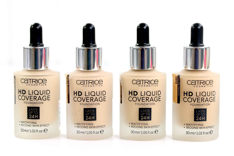 Catrice HD Liquid Coverage Foundation InnenAussen