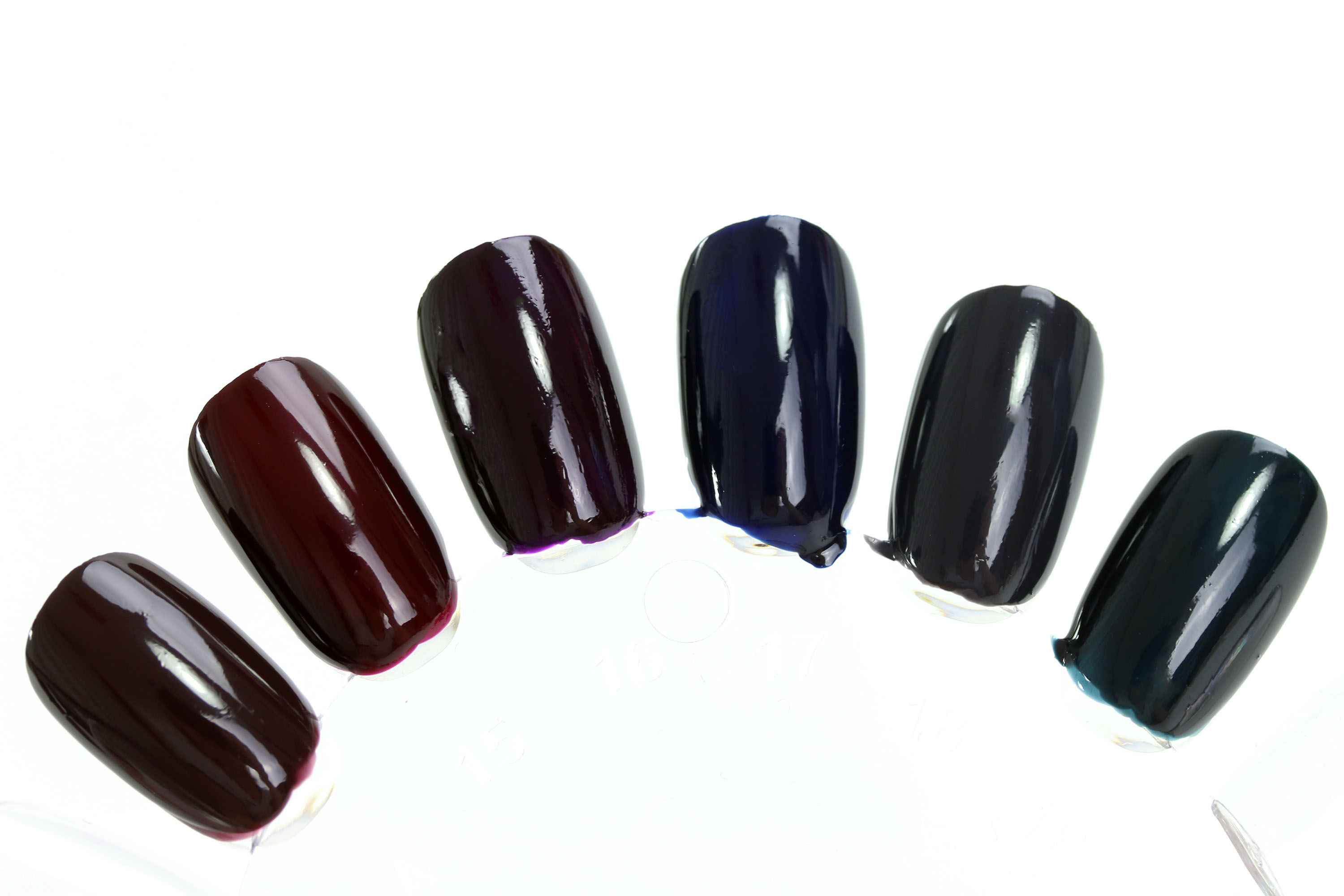 Catrice Noir Lacquer Swatches 2
