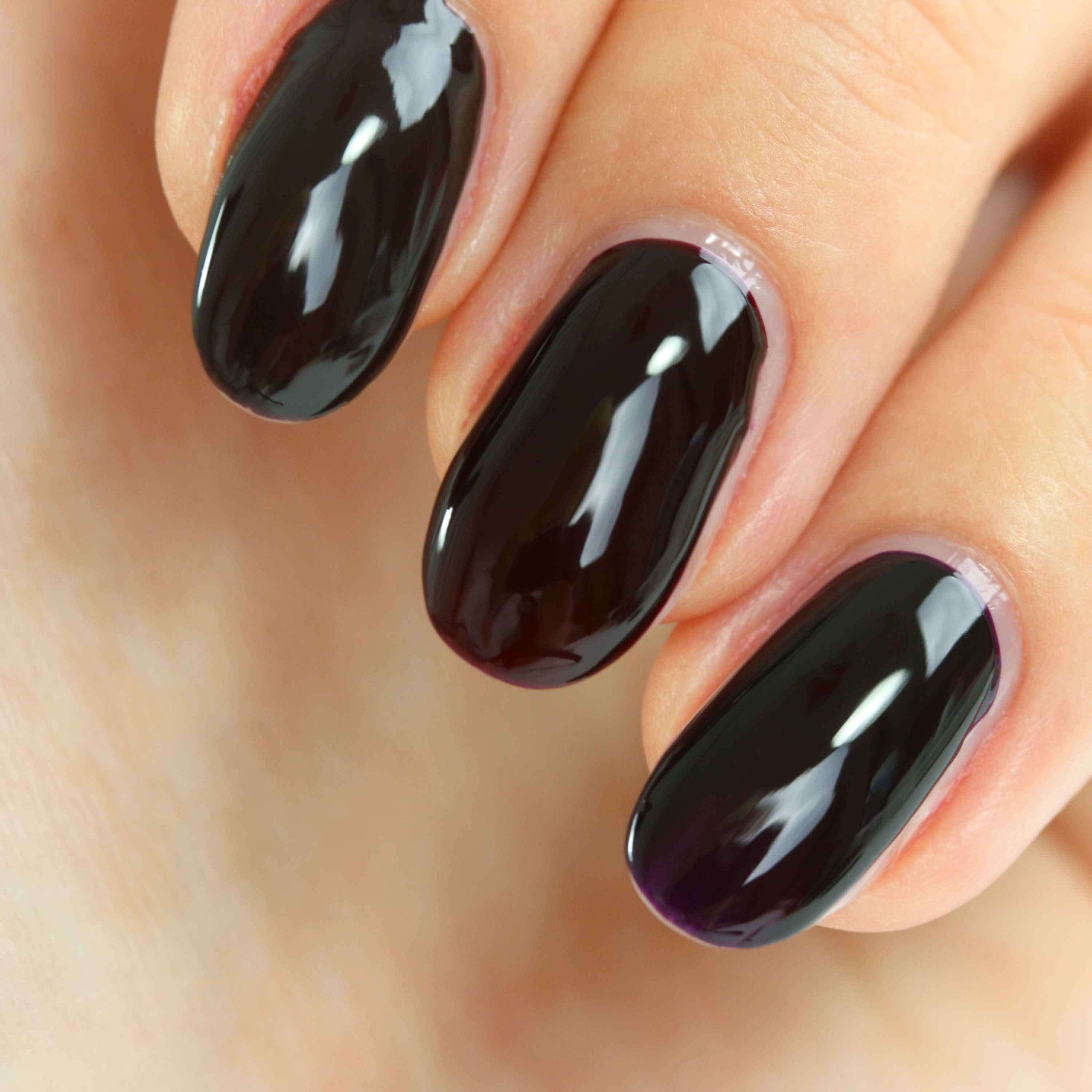 Catrice Noir Lacquer Swatches