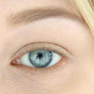 Catrice Sensitiv Eyes Volume Mascara InnenAussen Vorher