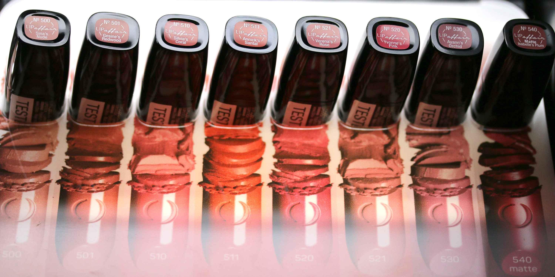LOV Lipaffair Color Care Lipstick InnenAussen