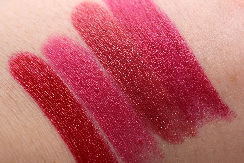 LOV Lipaffair Color Care Lipstick Swatches InnenAussen 2