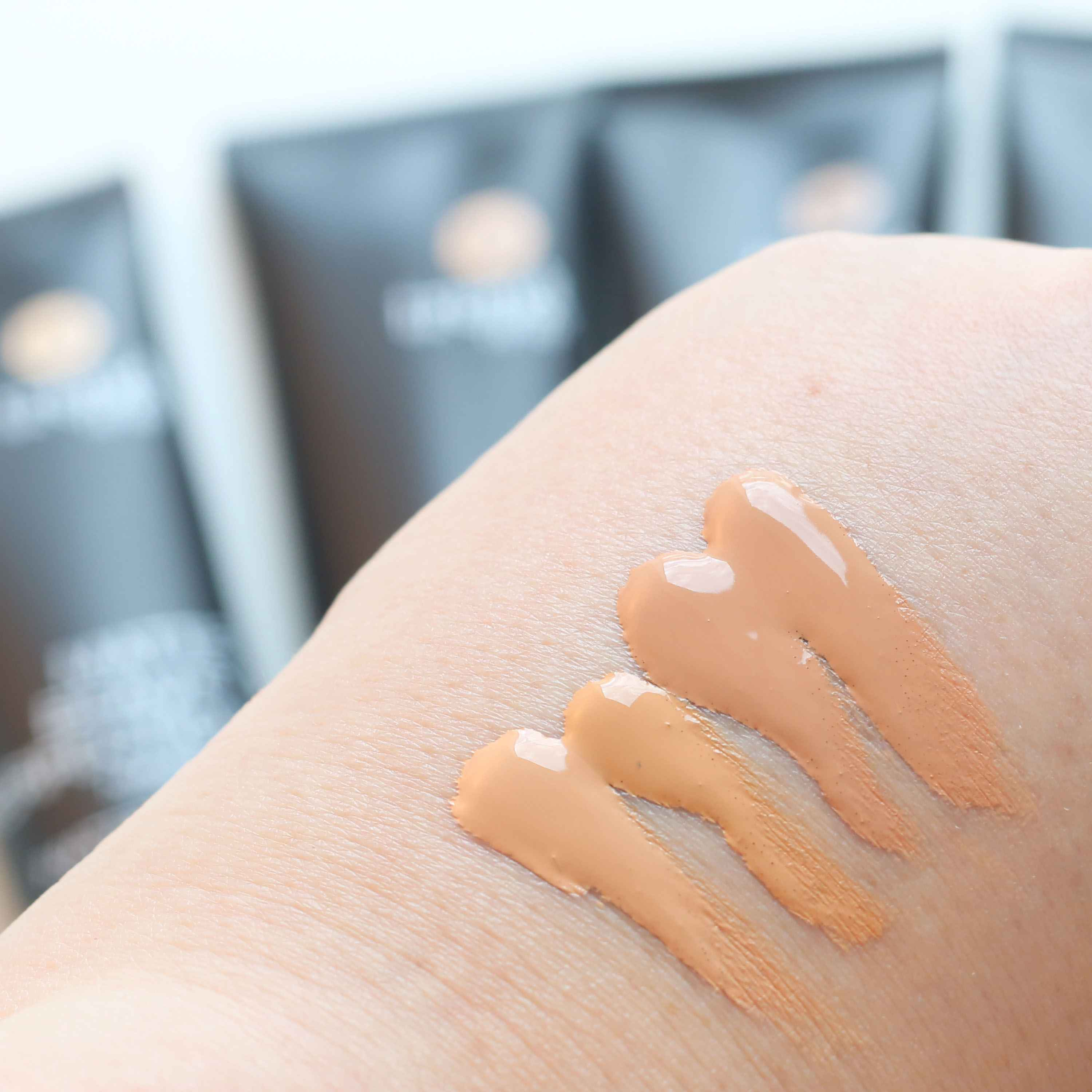 Swatches Matte Beauty Perfection Foundation trend it Up InnenAussen