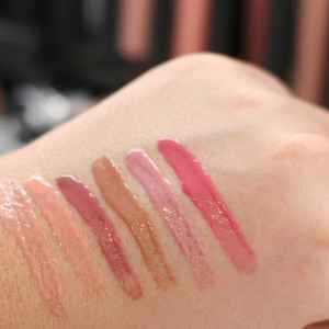 dm trend It Up Swatches High Shine Lipgloss InnenAussen