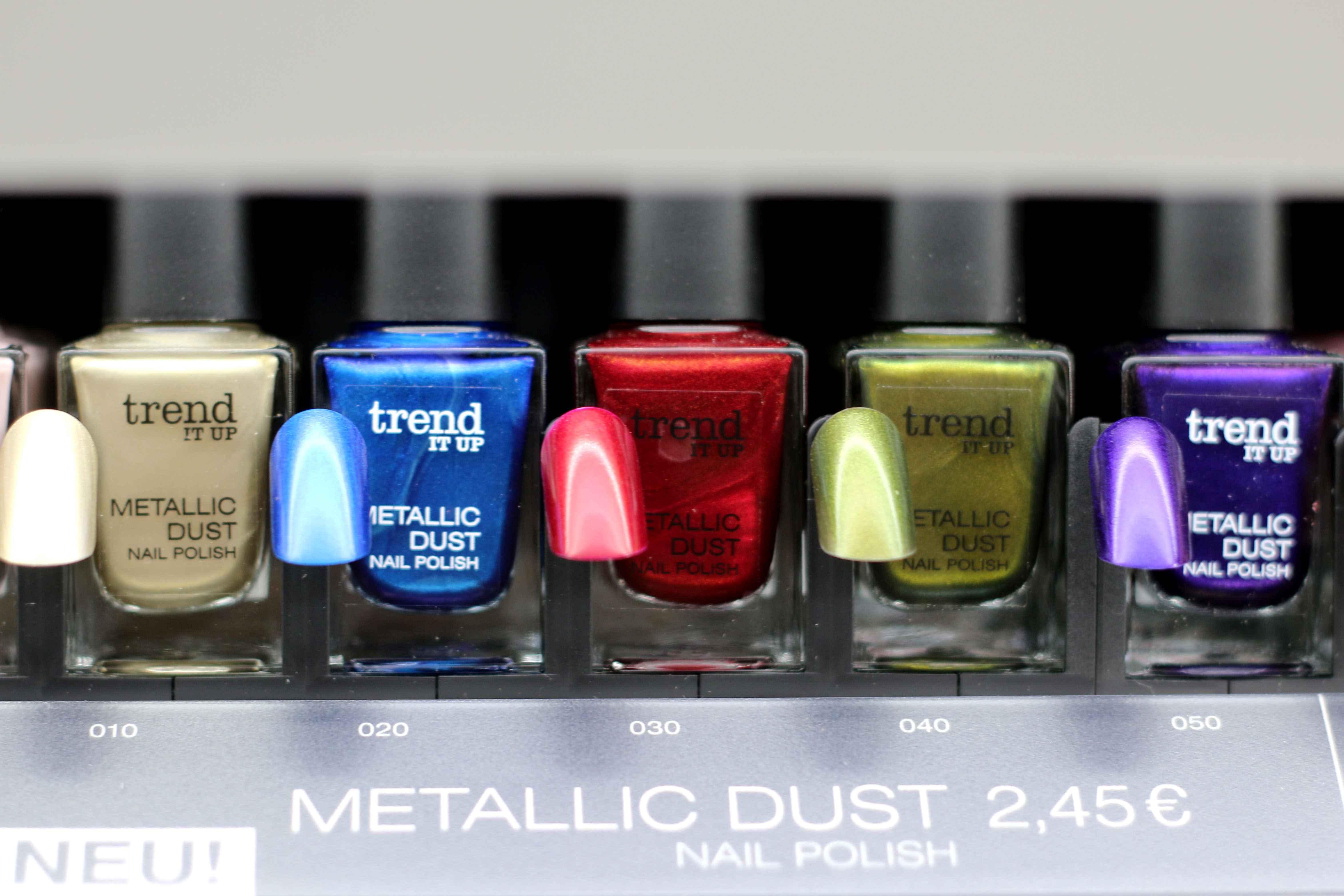 dm trend it up Nagellack Metallic Dust InnenAussen