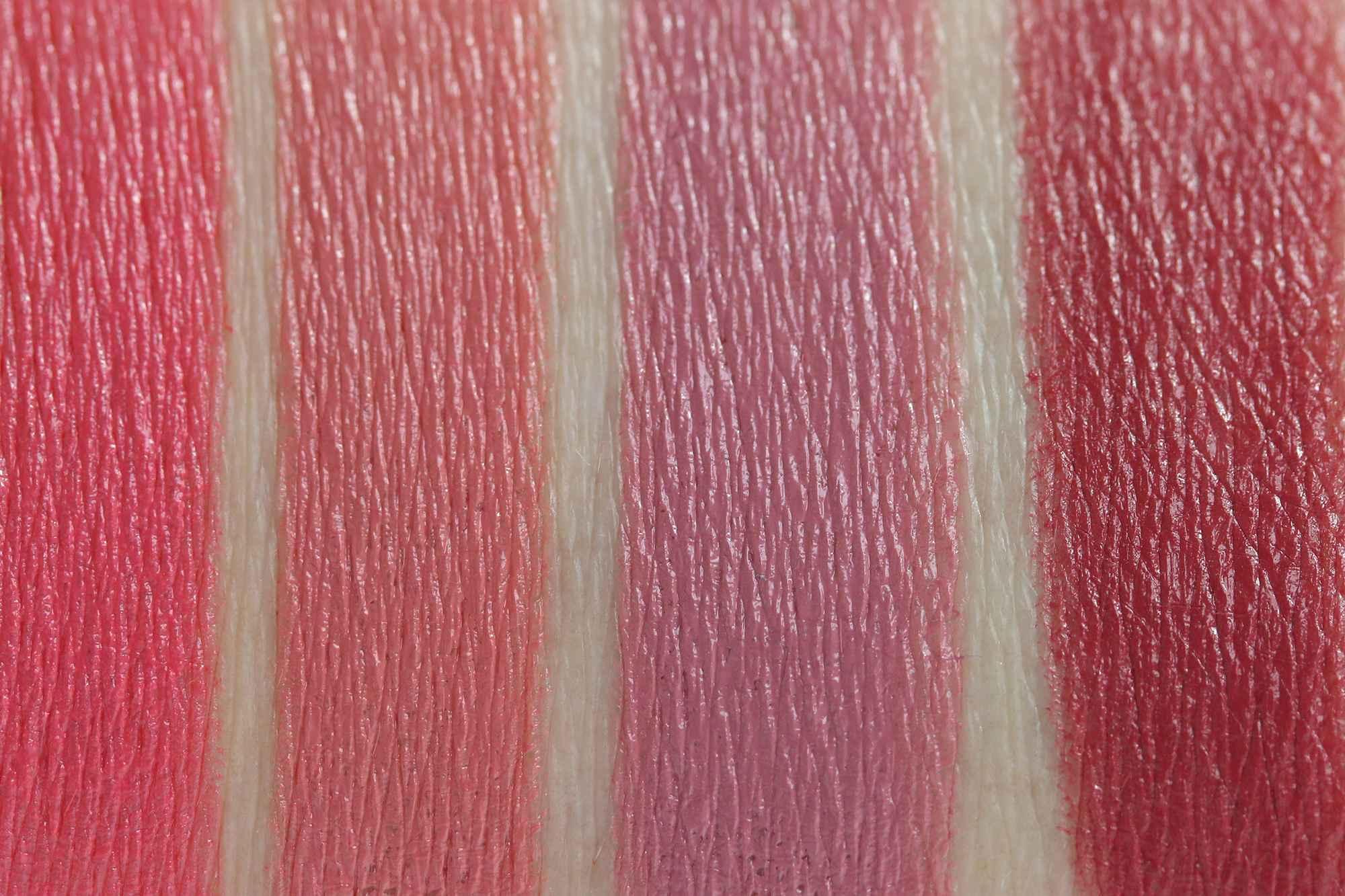 LIPaffair Color & Care Lippenstift Swatches InnenAussen 1