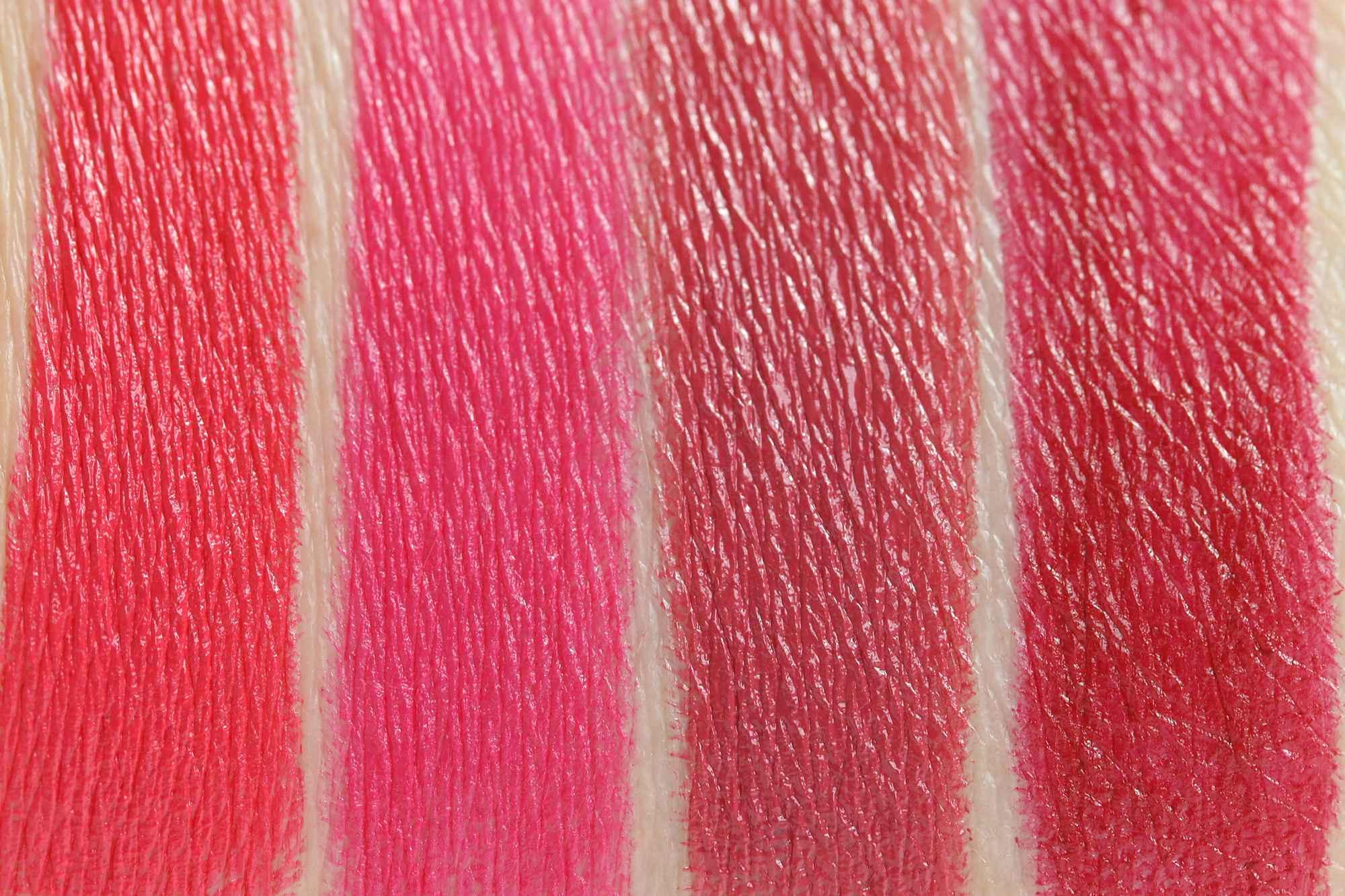 LIPaffair Color & Care Lippenstift Swatches InnenAussen 2