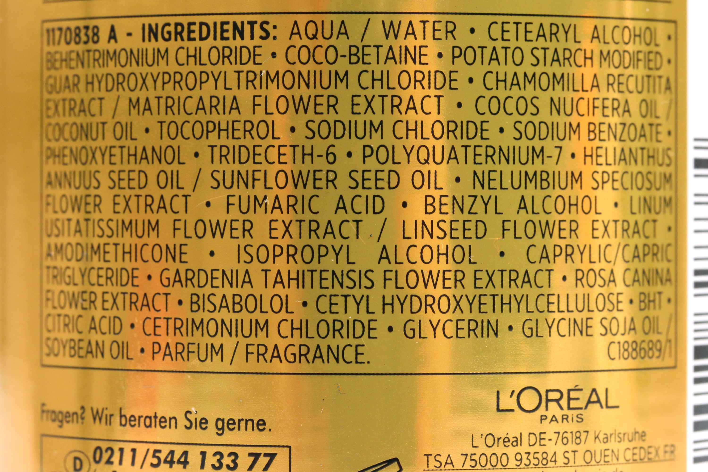 Loreal Low Shampoo Inhaltsstoffe