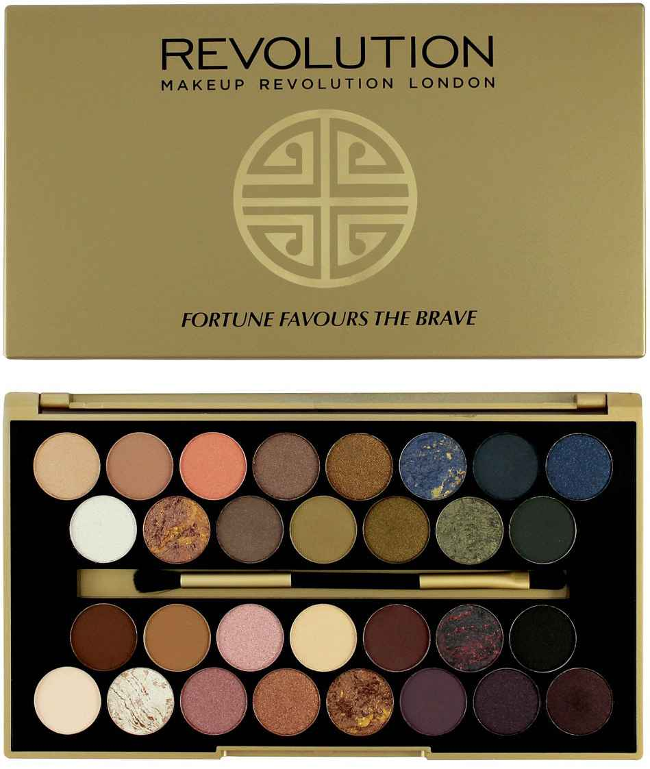 MakeUp Revolution Fortune Favours the Brave Duo Chrome Eyeshadow