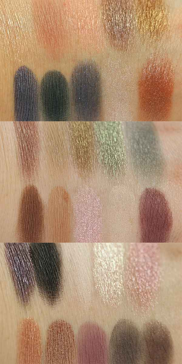 MakeUp Revolution Fortune Favours the Brave Swatches InnenAussen