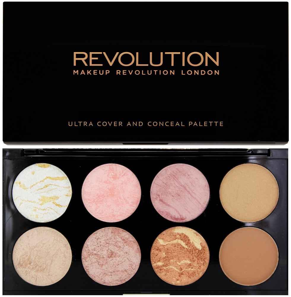 MakeUp Revolution Ultra Blush & Contoure Palette Golden Sugar