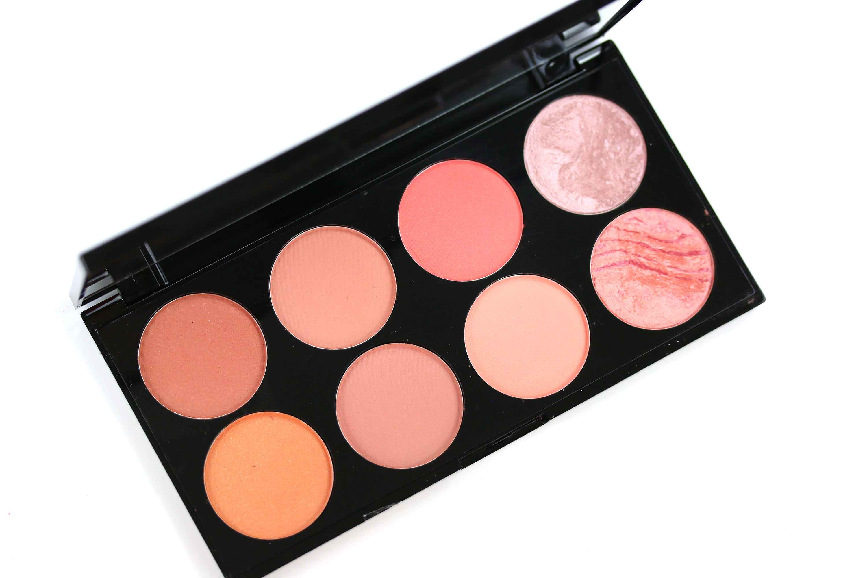 MakeUp Revolution Ultra Blush Palette Hot Spice Offen InnenAussen