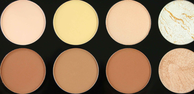 MakeUp Revolution Ultra Contour Palette Farben InnenAussen