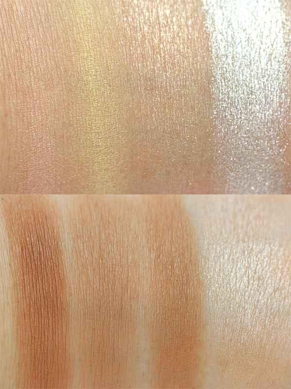 MakeUp Revolution Ultra Contour Swatches Palette InnenAussen
