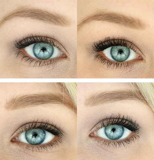 Mascara Kombination InnenAussen Auge