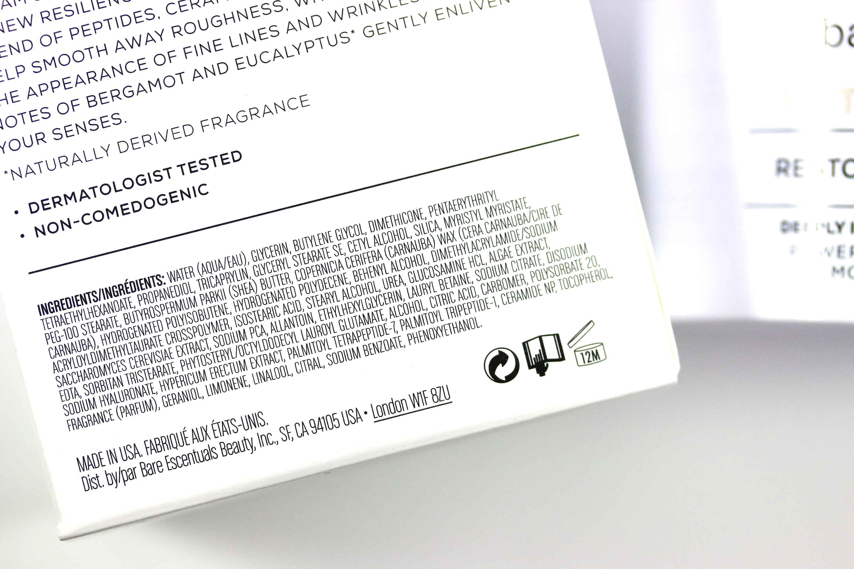 bareMinerals Hautpflege Creme