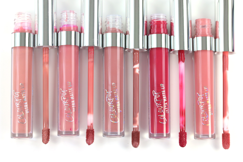 Colourpop Ultra Matte Lip Farben