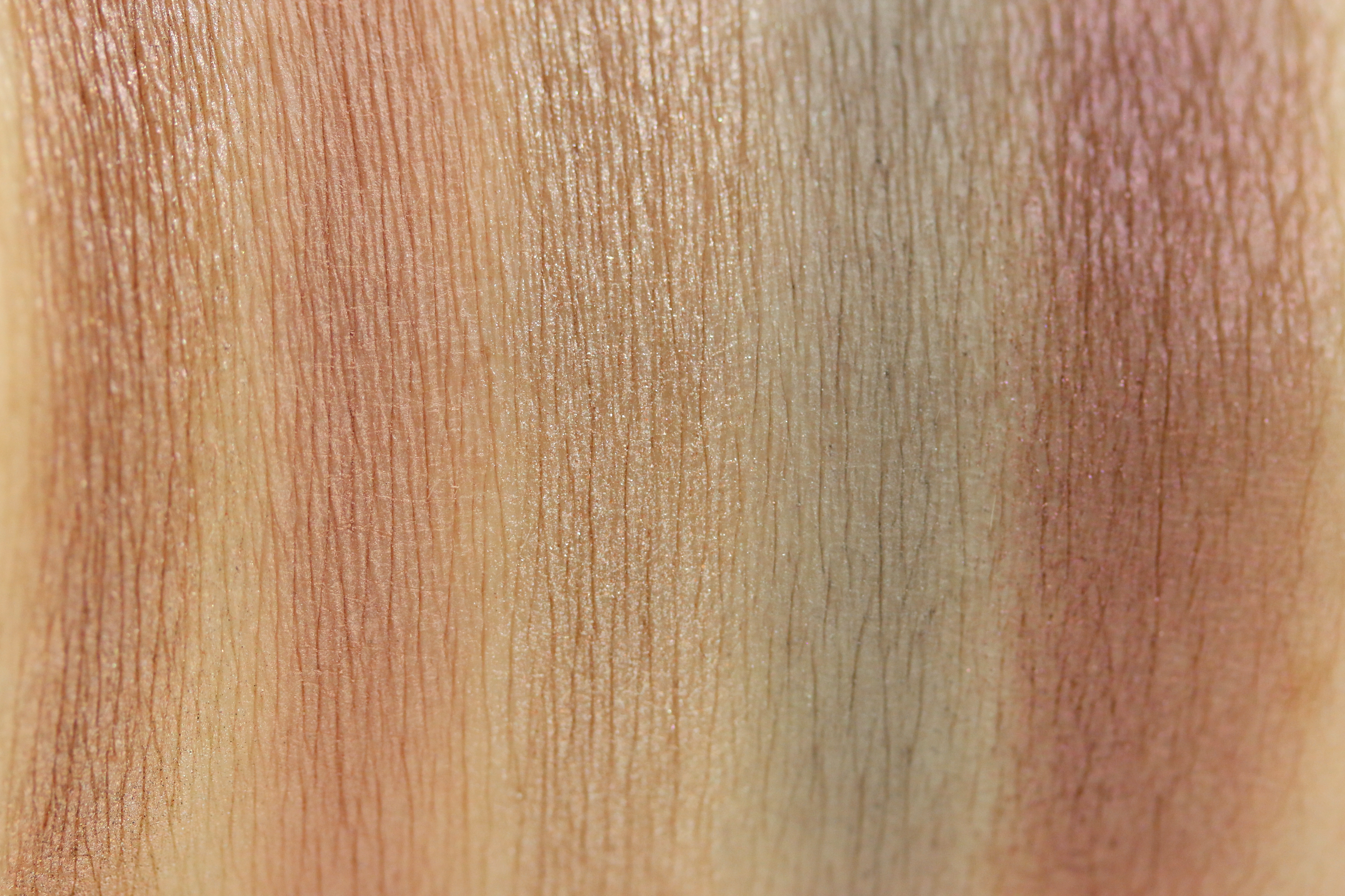 Loreal La Palette Nude Rose Swatches 1