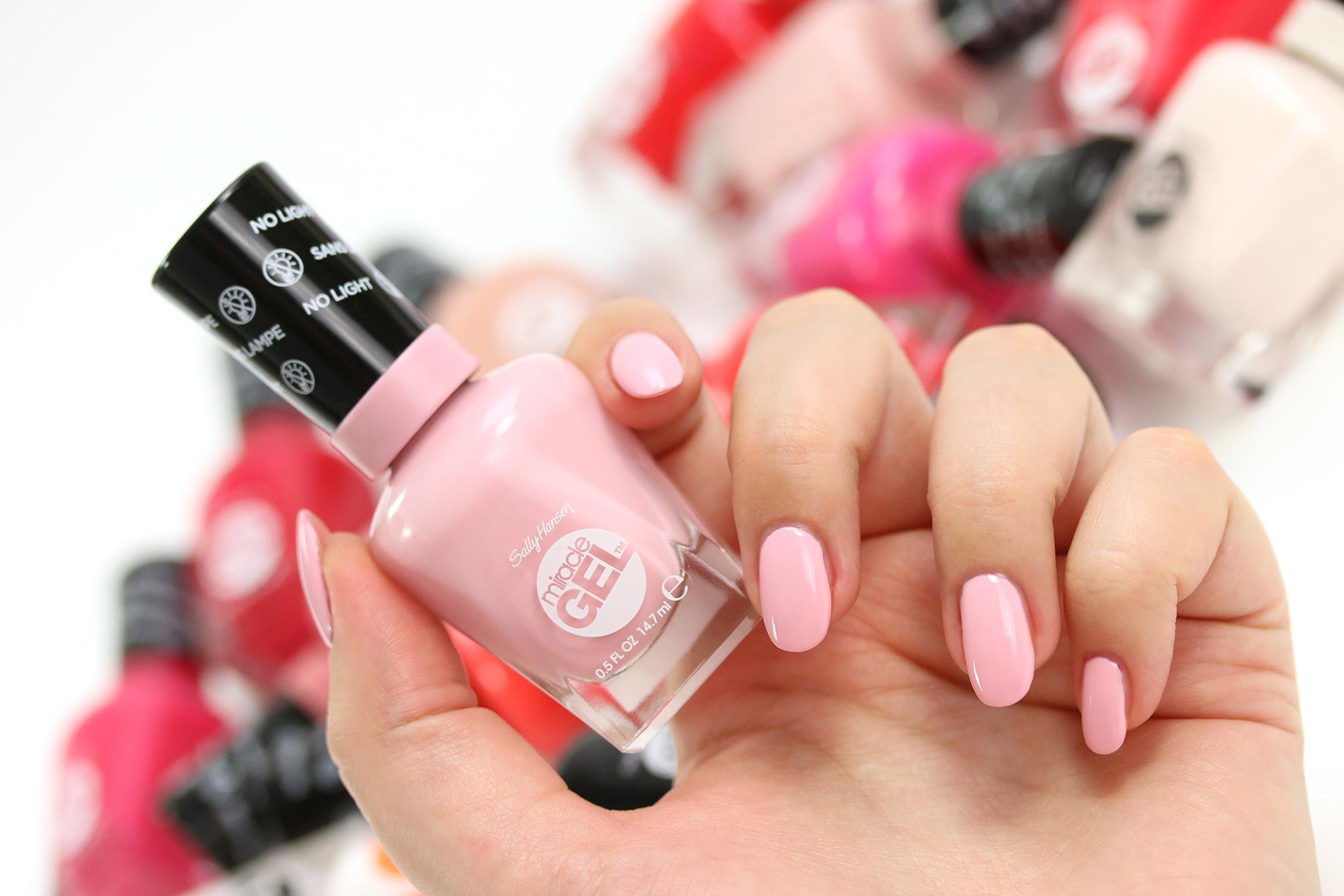 Sally Hansen Miracle Gel 160 Pinky Promise