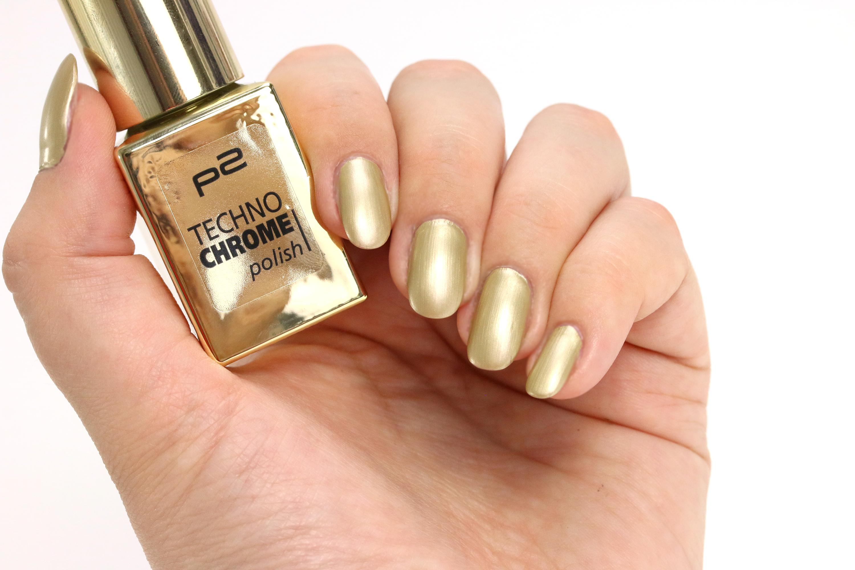 p2 Techno Chrome 090 Golden Edge