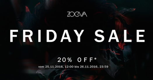[Tipp] Friday Sale Zoeva 20% Rabatt