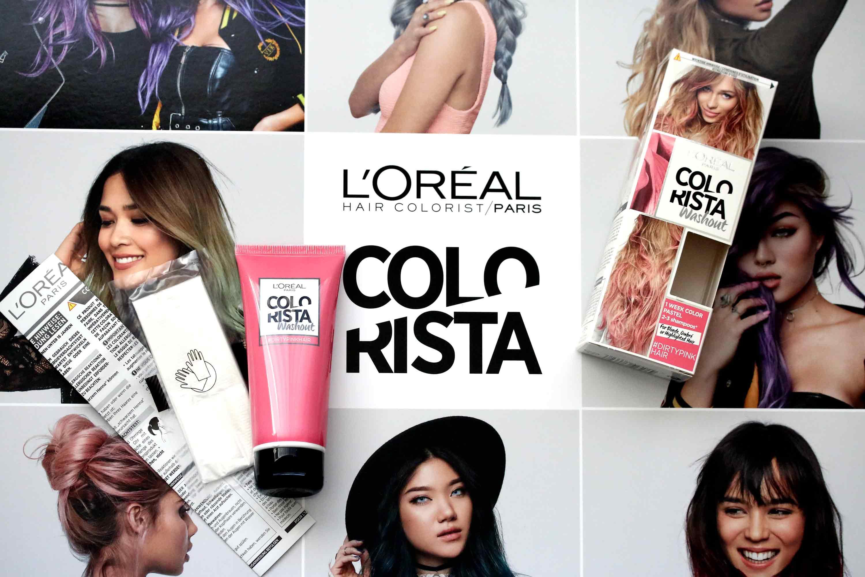 hair] neu in der drogerie - loreal colorista - innenaussen, Hause ideen