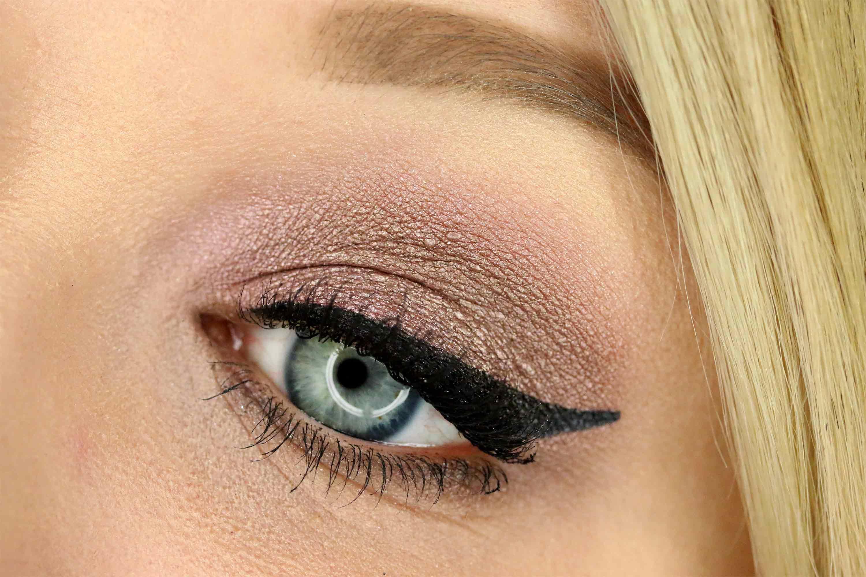 [FOTD] Schimmernder Look mit Metallic Eyeshadow