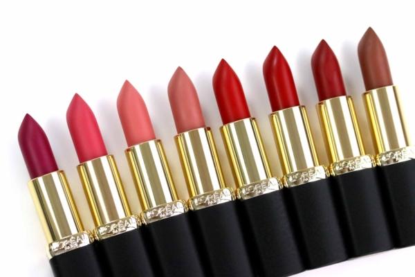 loreal color riche matte lippenstift swatches und tragebilder innenaussen. Black Bedroom Furniture Sets. Home Design Ideas