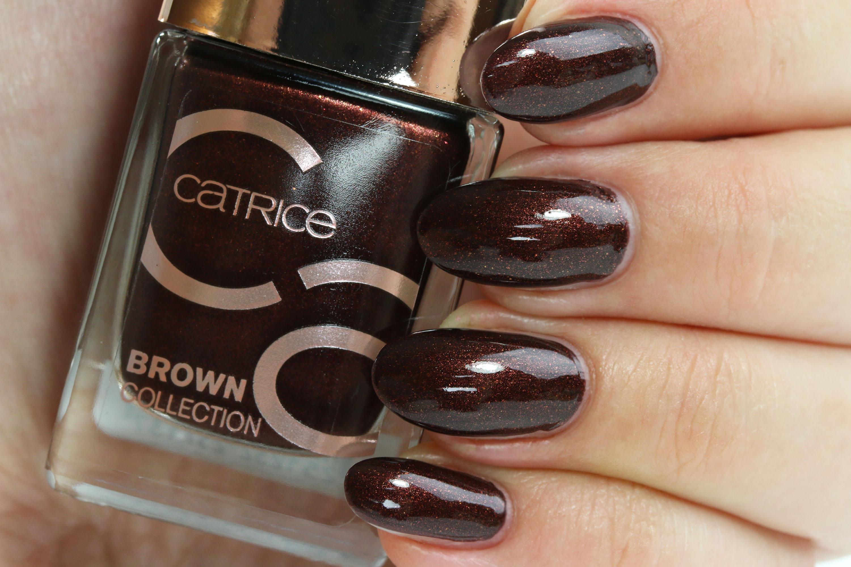 Catrice Brown Collection Nagellack - Tragebilder - InnenAussen