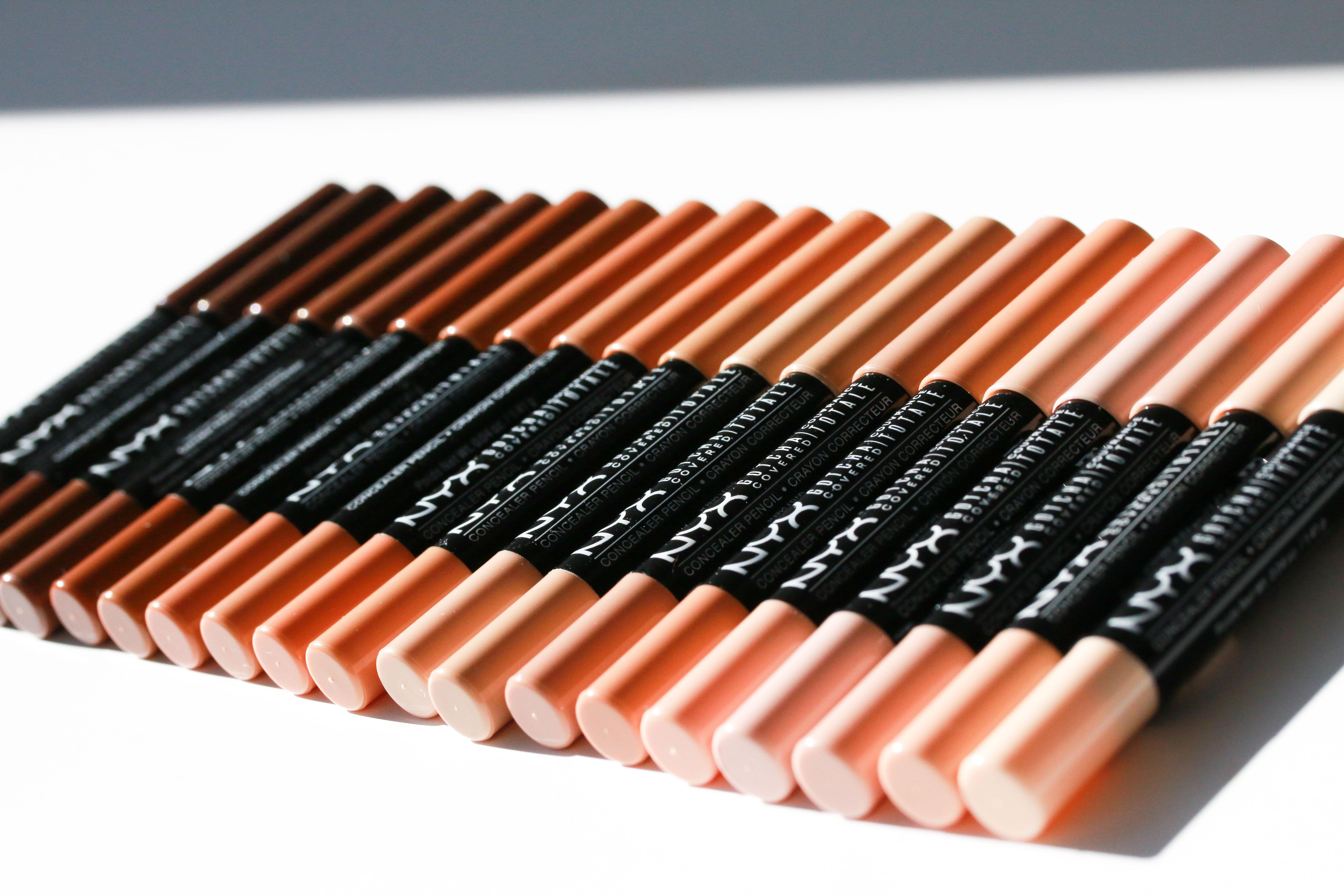 Nyx Gotcha Covered Concealer Pencil Alle 20 Farben Innenaussen Stick Bei Concealern Finden Sich Aber Oft Nur 3 5 Nuancen Der Ist Nun In Insgesamt Erhltlich