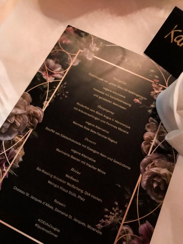 Zoeva Dinner Event