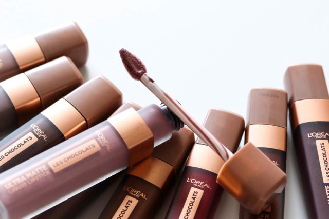 Loreal Les Chocolates Ultra Matte Liquid Lipstick