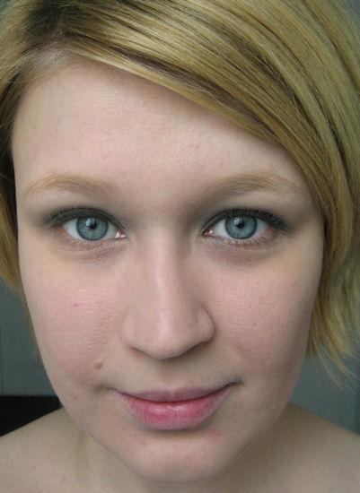natürliches Make up Ideen Augen Gesicht schminken